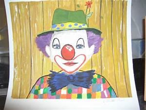 Auto 26 Alixan : clown mon premier tableau peinture acrylique mes passes temps ~ Gottalentnigeria.com Avis de Voitures