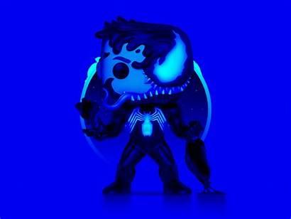 Venom Pop Funko Vinyl Figure Neon Marvel