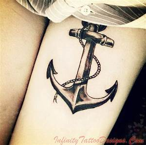 Anchor Tattoos & Meaning – Fading Trend Or Up And Coming ...