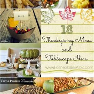 Non-traditional Thanksgiving Table Setting Ideas - Home