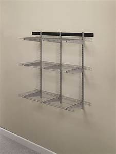 Effortless Installation Wall Mounted Wire Shelving