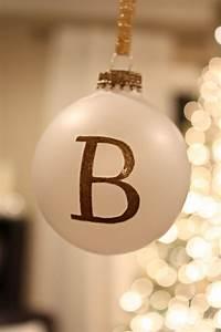 Ballard Designs Christmas Ornaments Diy Christmas Monogrammed Ornaments Bower Power