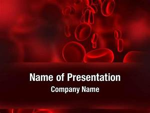 red blood cells powerpoint templates red blood cells With blood ppt templates free download