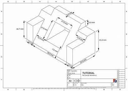 Tutorial Cad Engineering Drawing Basic Dimensions Sheet