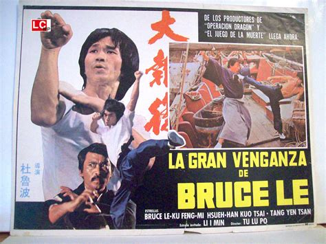 """la Gran Venganza De Bruce Lee"" Movie Poster  """" Movie Poster"