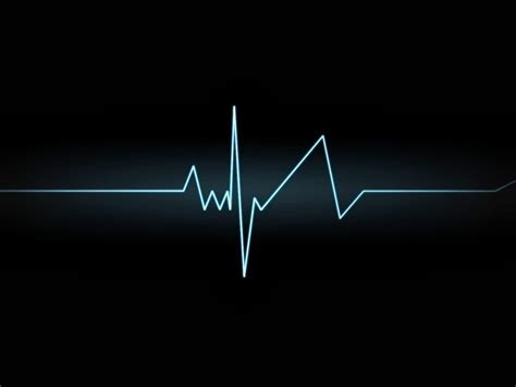 Template backgrounds: Heartbeat Graph Slide Background