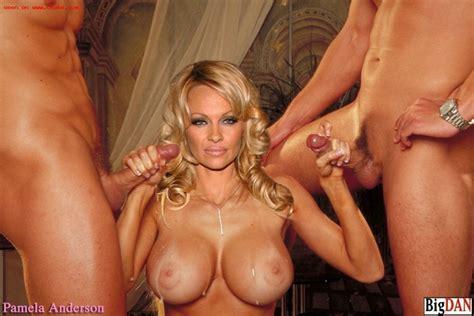 Busty celebrity blonde Pamela Anderson fucked hard - Pichunter