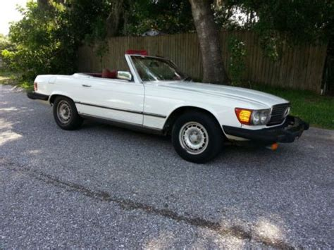 Find Used 1979 Mercedes Benz 450 Sl Roadster Convertible