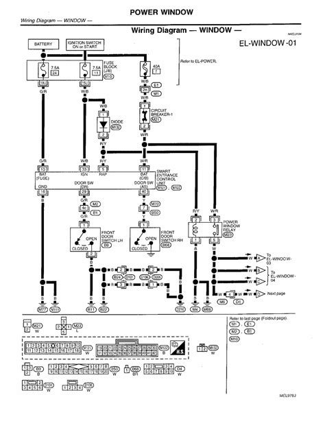 97 Nissan Light Wiring Diagram by Repair Guides Electrical System 1999 Power Window
