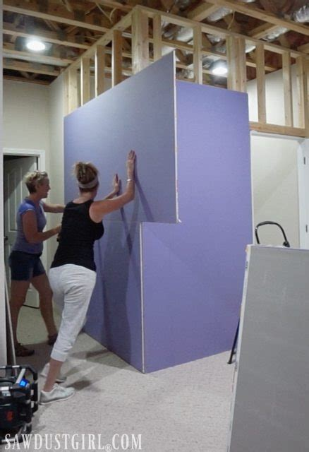 recovering from a flood installing purple xp 174 drywall
