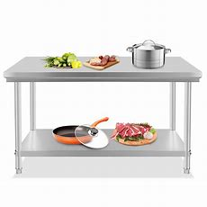 """Stainless Steel Commercial Kitchen Work Prep Table 30"""" X"""