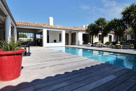 ile de r 233 la couarde proche plage villa contemporaine avec piscine 4 chambres ventes