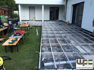 Bilder wpc aluminium alu unterkonstruktion f r for Wpc terrasse unterkonstruktion