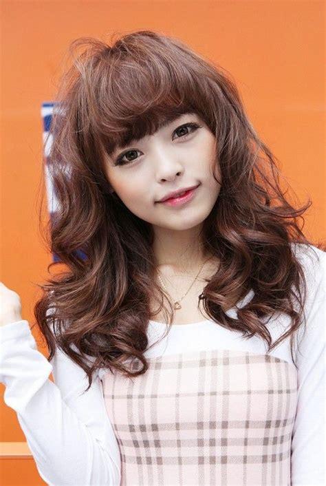 sweet long japanese hairstyle  girls haircuts