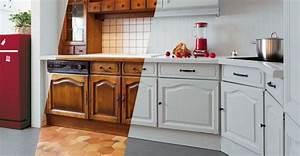 Cuisine Repeinte En Blanc : r nover une cuisine rustique astuces pour moderniser votre cuisine ~ Melissatoandfro.com Idées de Décoration