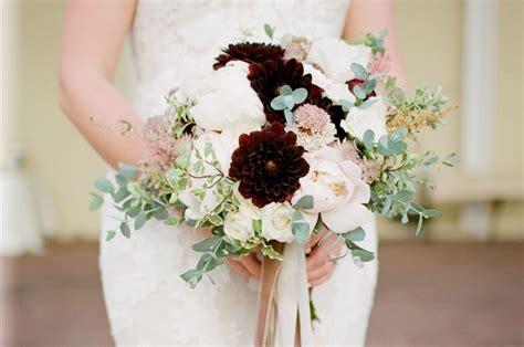 8 Winter Bridal Bouquets Southern Bride