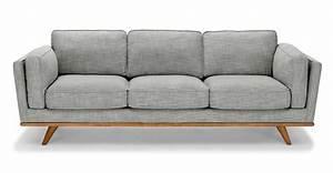 Timber Pebble Gray Sofa Sofas Article Modern Mid