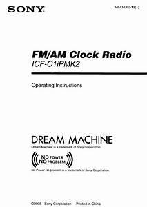 Sony Clock Radio Icf