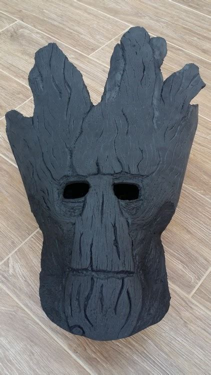 diy groot mask creative dad