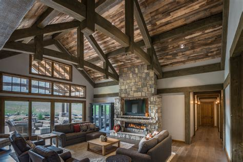 Timber Frame Timber Frame Home Interiors