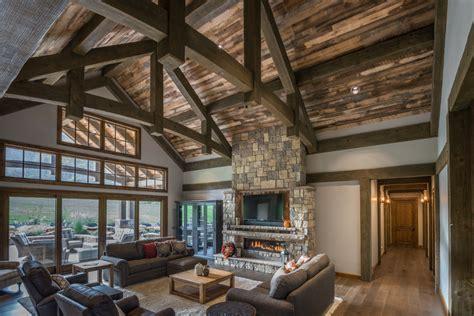 Timber Frame Timber Frame Home Interiors  New Energy Works
