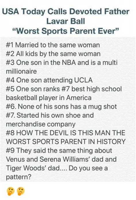 USA Today Calls Devoted Father Lavar Ball Worst Sports ...
