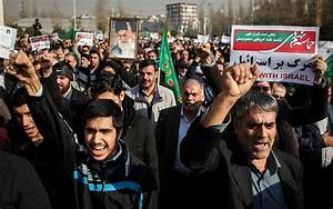 On 3rd day of anti-regime protests, Iran blames US, Israel ...