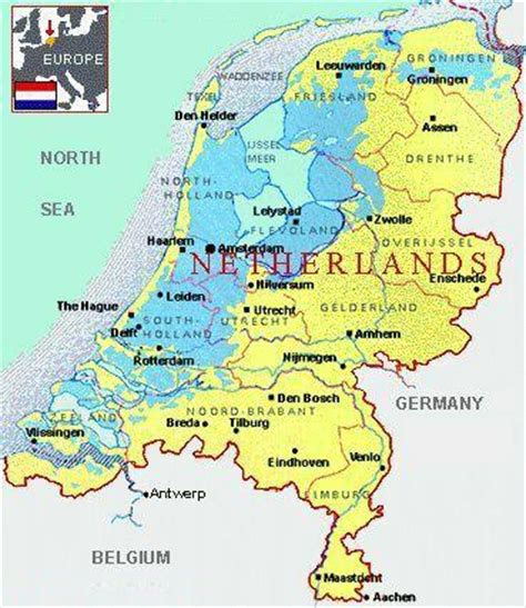 popular images map  holland