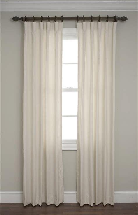 calico cartridge pleated drapes