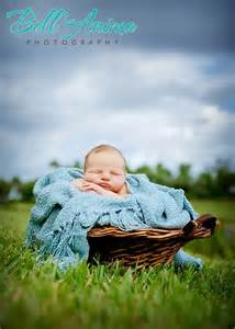 Newborn Baby Outdoor Photography
