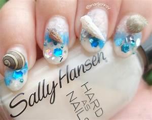 25 Gorgeous Beach-Themed Nail Art Designs That Will Make ...