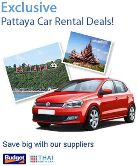 Of Ta Car Rental by Car Rental Pattaya Avail Best Price Car Hire Services At