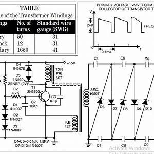 High Voltage Low Current Power Supply