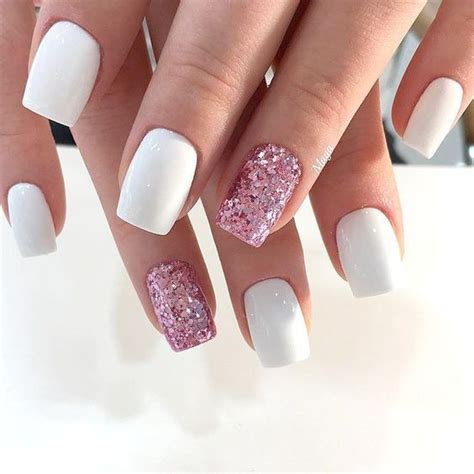 elegant summer nails design   stylish