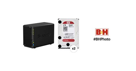 synology diskstation tb dsii  bay nas server kit