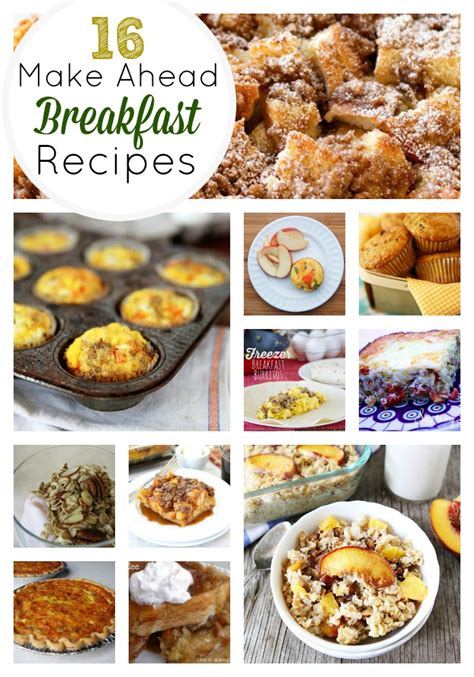 the best brunch recipes 16 amazing make ahead breakfast recipes skip to my lou