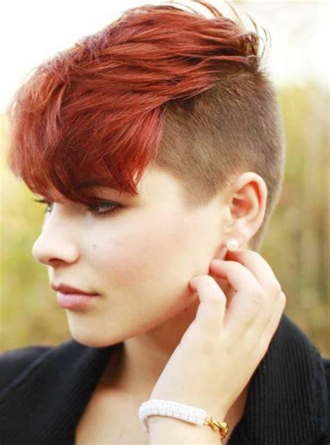 undercut hairstyle  womens  xerxes