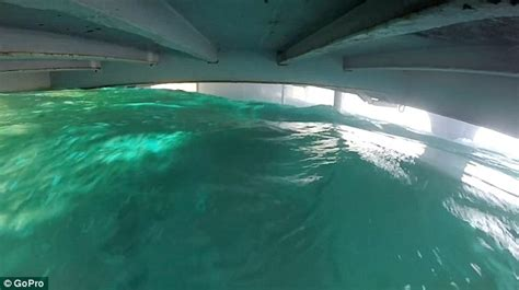 Boat Sinking Gopro by Gopro Shows Mexican Naval Vessel Uribe 121