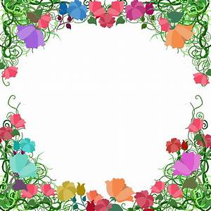 Free Page Border Designs Vine Border by ~ozaidesigns on