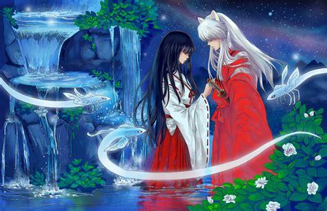 inuyasha anime juego inuyasha and kikyou fate by complexwish on deviantart