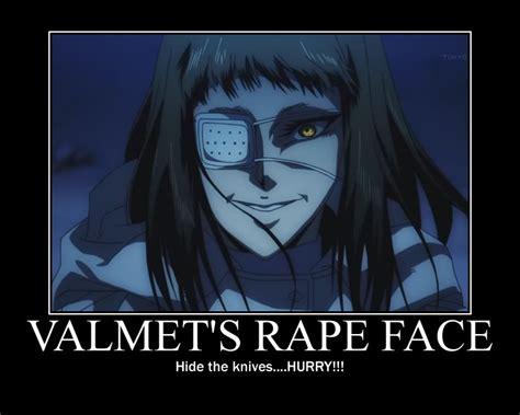 Anime Rape Memes - valmet s rape face by wilkydaddy on deviantart