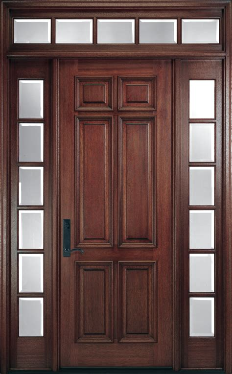 Wood Entry Doors by Pella Corporation Pre Finished Wood Entry Doors