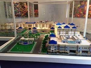Lego model of Cook Children's Hospital in Fort Worth ...