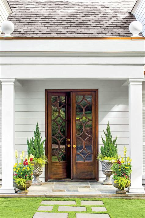 southern front doors front door container gardens southern living