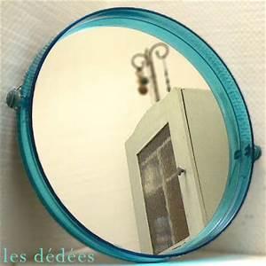 Miroir Rond Salle De Bain : les dedees vintage recup creations le miroir rond 70 ~ Nature-et-papiers.com Idées de Décoration