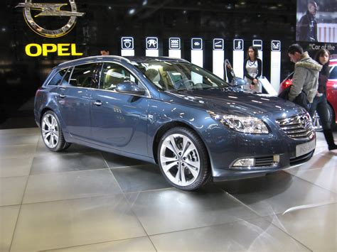 Opel Insignia Sw file opel insignia sw front view jpg