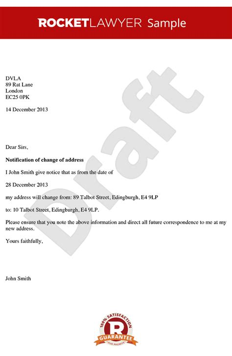 sample business letter april