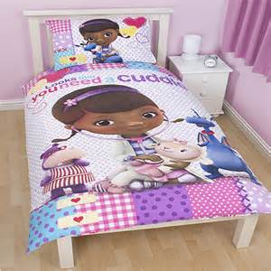 doc mcstuffins bedding set from the patch range