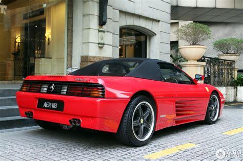 1993 Ferrari 348 Spider, Roof Up Front Left.jpg