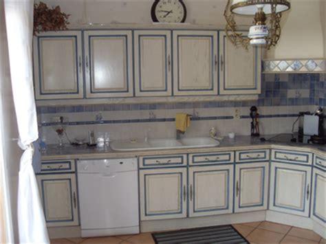 vieille cuisine repeinte modele de cuisine rustique meilleures images d